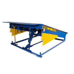 Mechanical U-beam dock leveler