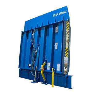 Blue Giant Vertical Storing Dock Levelers